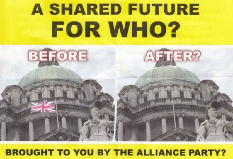 NEWS: Alliance join with Sinn Fein in attempt to destroy jobs and create a republican ghetto in North Belfast