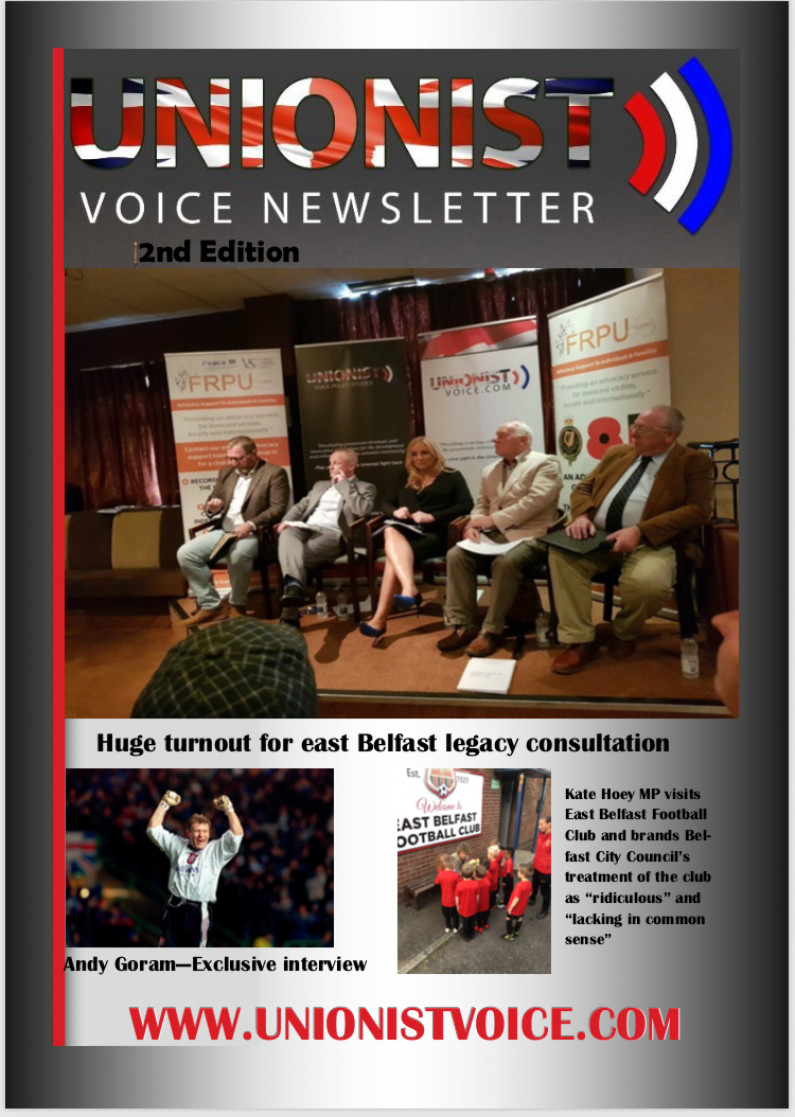 Download 2nd Edition of the Unionist Voice Newsletter for free