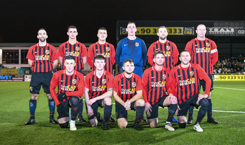 SPORT: East Belfast FC secure their place in Christmas Day's Toals Steele and Sons Cup final
