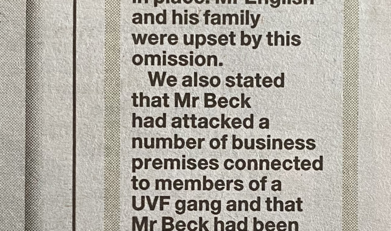 Sunday World issue a clarification after exploitative and inaccurate 'vigilante' article
