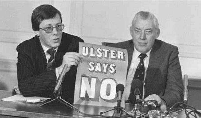 OPINION: Peter Robinson behaving like Ted Heath does nothing to unite Unionism