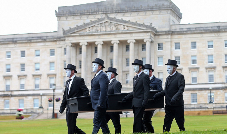 PSNI fail to investigate unlawful Relatives for Justice procession